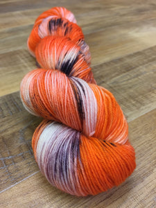 Superwash Bluefaced Leicester Nylon Ultimate Sock Yarn, 100g/3.5oz, Take The Cookies