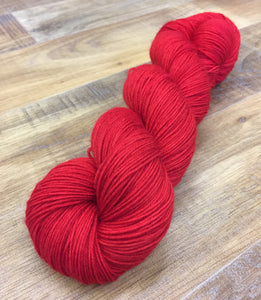 Superwash Bluefaced Leicester Nylon Ultimate Sock Yarn, 100g/3.5oz, Semi Solid, Bloody Mary