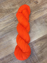Load image into Gallery viewer, Superwash Mohair/Merino/Nylon Sock Yarn, 100g/3.5oz, Orange Colored Sky