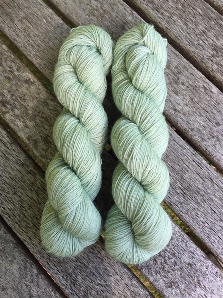 Superwash Bluefaced Leicester Nylon Ultimate Sock Yarn, 100g/3.5oz, Whisperer
