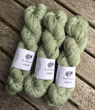 Load image into Gallery viewer, Superwash Bluefaced Leicester Donegal Nep Sock Yarn, 100g/3.5oz, Whisperer