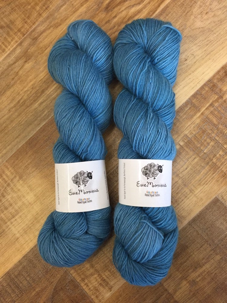 Superwash Mohair/Merino/Nylon Sock Yarn, 100g/3.5oz, Wild Atlantic Way