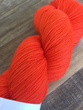 Load image into Gallery viewer, Superwash Bluefaced Leicester Nylon Ultimate Sock Yarn, 100g/3.5oz, Magma