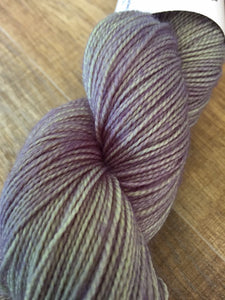 Superwash Merino Nylon Titanium Sock Yarn, 100g/3.5oz, Moon Landing