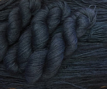 Load image into Gallery viewer, Non Superwash Bluefaced Leicester Gotland DK Yarn, 100g/3.5oz, Malice Through The Looking Glass