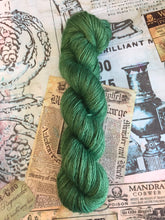 Load image into Gallery viewer, Non Superwash Wensleydale British Wool, DK Light Worsted Yarn, 100g/3.5oz, Glitter and Grease