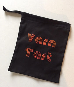 Yarn Tart Cotton Drawstring Tote Bag