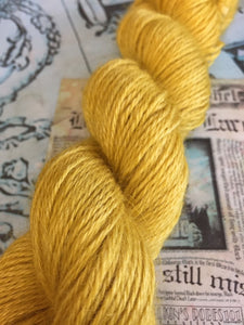 Non Superwash Wensleydale British Wool, DK Light Worsted Yarn, 100g/3.5oz, Gladrags