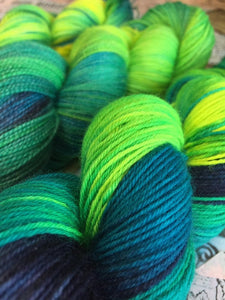 Superwash Bluefaced Leicester Nylon Ultimate Sock Yarn, 100g/3.5oz, 42