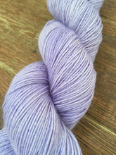Load image into Gallery viewer, Superwash Bluefaced Leicester Nylon Ultimate Sock Yarn, 100g/3.5oz, Lady Susan, Lilac, Semi Solid