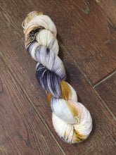 Load image into Gallery viewer, Superwash Merino Single Ply Fingering Yarn, 100g/3.5oz, Meetings Have Biscuits