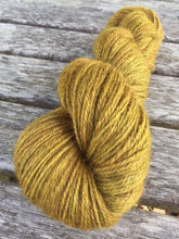 Load image into Gallery viewer, Non Superwash Bluefaced Leicester Gotland DK Light Worsted Yarn, 100g/3.5oz, Gold Rush