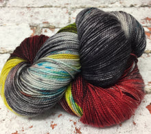 Load image into Gallery viewer, Superwash Merino Nylon Titanium Sock Yarn, 100g/3.5oz, Be Kind