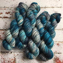 Load image into Gallery viewer, Superwash Zebra 4 Ply Fingering Yarn, 100g/3.5oz, Ship of Fools