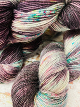 Load image into Gallery viewer, Superwash Merino Nylon Titanium Sock Yarn, 100g/3.5oz, One of a Kind