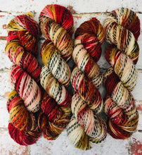 Load image into Gallery viewer, Superwash Zebra 4 Ply Fingering Yarn, 100g/3.5oz, Piano Wire