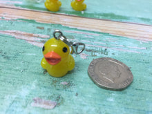 Load image into Gallery viewer, Rubber Duck Progress Keeper Stitch Marker