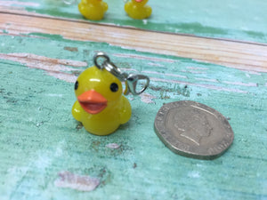 Rubber Duck Progress Keeper Stitch Marker