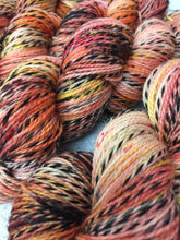 Load image into Gallery viewer, Superwash Zebra 4 Ply Fingering Yarn, 100g/3.5oz, That's Betsy Bucket's Peach