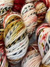 Load image into Gallery viewer, Superwash Zebra DK/Light Worsted Yarn Wool, 100g/3.5oz, Piano Wire