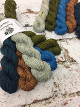 Load image into Gallery viewer, View from Cuilcagh Minis Sock Set, Superwash Bluefaced Leicester, 100g