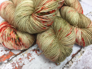Superwash Merino Single Ply Fingering Yarn, 100g/3.5oz, The Imitation Game