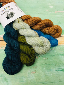 View from Cuilcagh Minis Sock Set, Merino/Nylon, 100g
