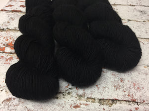 Superwash Merino Single Ply Fingering Yarn, 100g/3.5oz, Have You Seen This Wizard