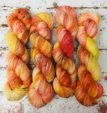 Load image into Gallery viewer, Superwash Merino Nylon Titanium Sock Yarn, 100g/3.5oz, That's My Peach