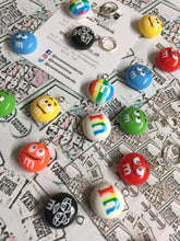 Load image into Gallery viewer, M&Ms Candy Charm Progress Keeper Stitch Marker