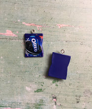 Load image into Gallery viewer, Oreo Candy Charm Progress Keeper Stitch Marker