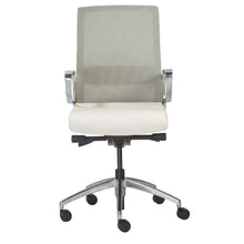 Load image into Gallery viewer, eurostyle Alpha Office Chair with Gray Mesh and Polished Aluminum Base