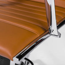 Load image into Gallery viewer, eurostyle Dirk High Back Office Chair in Black with Chromed Steel Base