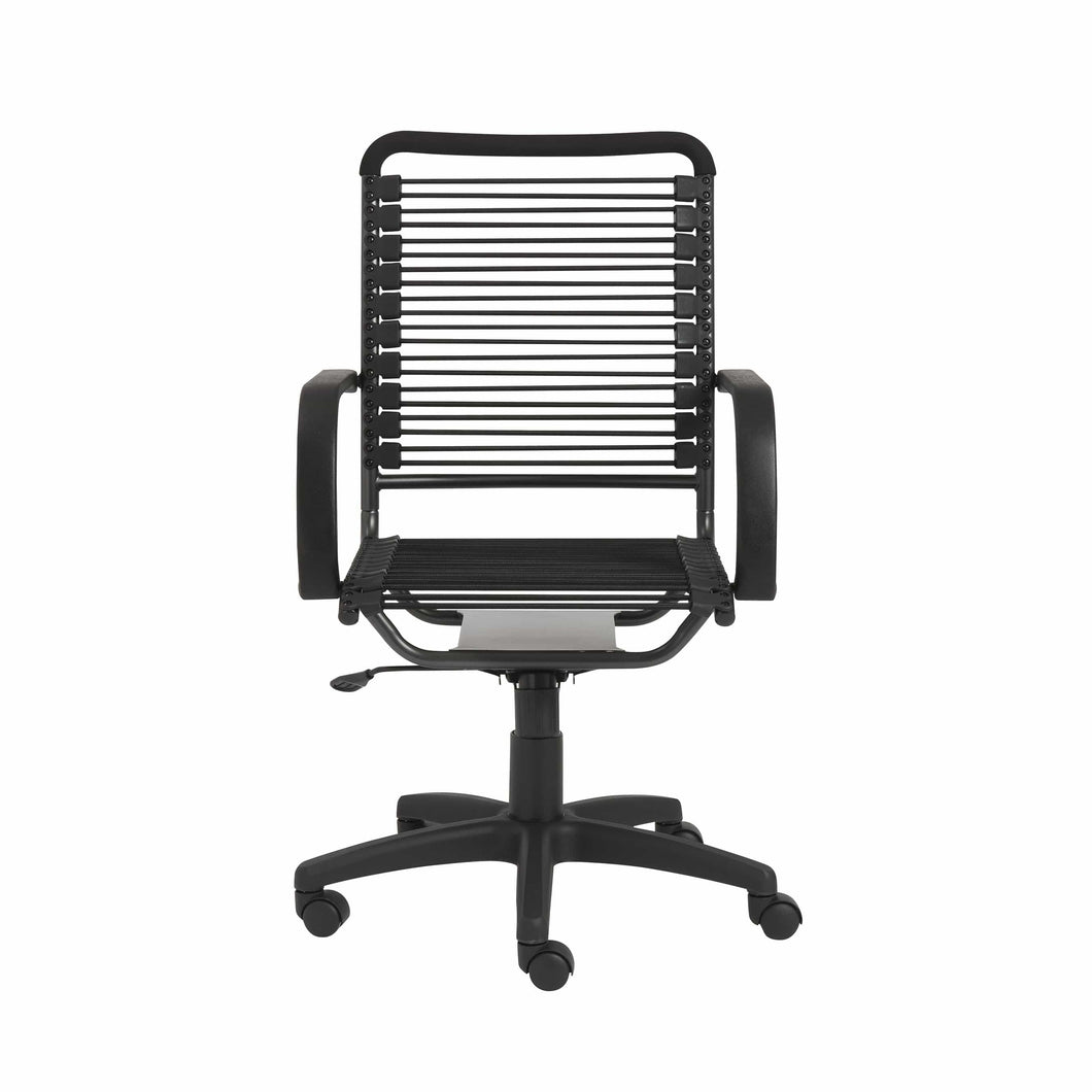 Bungie High Back Office Chair in Black with Graphite Black Frame and Black Base