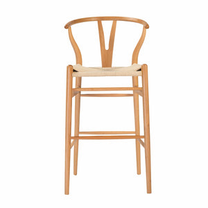 Evelina-B Bar Stool in Natural