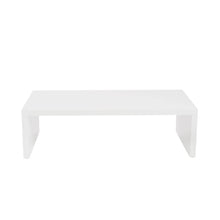 Load image into Gallery viewer, Abby Rectangle Coffee Table in High Gloss White