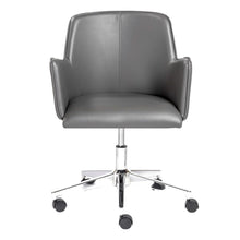 Load image into Gallery viewer, Sunny Pro Office Chair in Gray with Chrome Base
