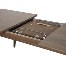 "Load image into Gallery viewer, eurostyle Lawrence 83"" Extension Dining Table in American Walnut 38934WAL 727511969267"