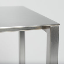 "Load image into Gallery viewer, eurostyle Montclair 48"" Console Table in Brushed Aluminum"