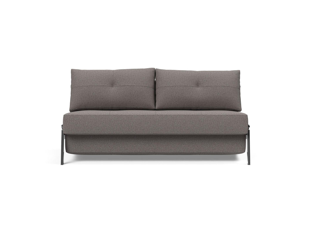 Cubed Sofa - Queen size, with Chrome Legs