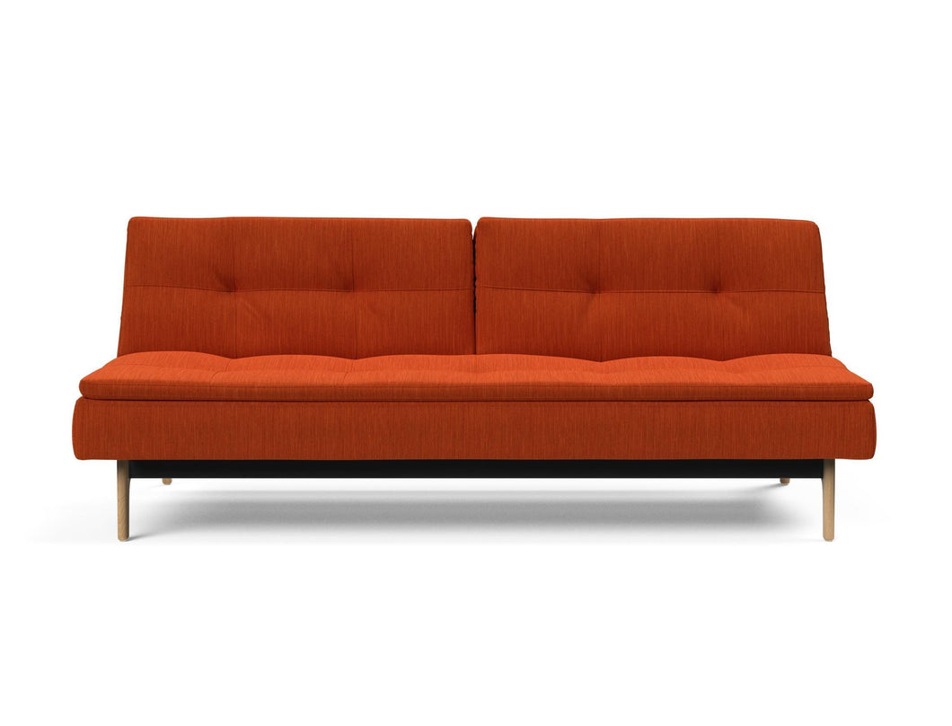 Dublexo Eik Sofa with Lacquered Oak Legs