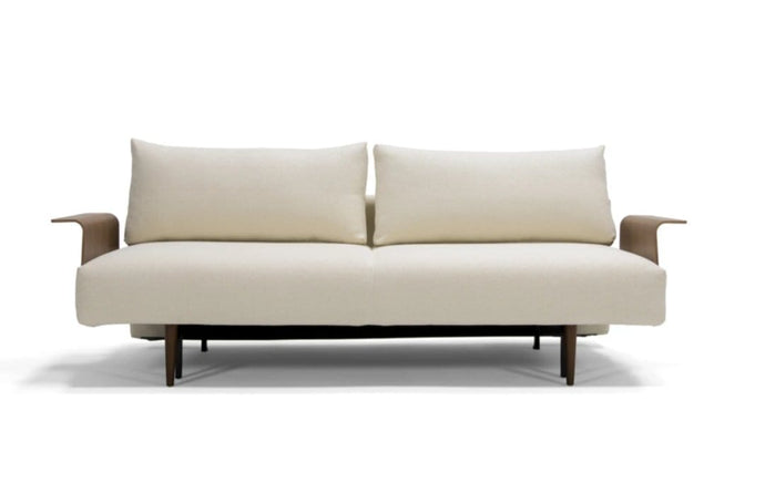 INNOVATION Frode Sofa with Wood Arms 95-742048020531-WOOD