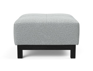 INNOVATION Deluxe Excess Ottoman with Chrome Legs 95-748251538-3