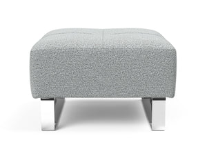 INNOVATION Deluxe Excess Ottoman with Chrome Legs 95-748251538-0