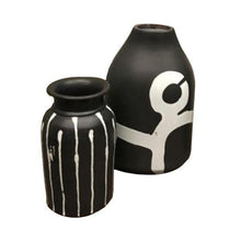 Load image into Gallery viewer, Artistic Ceramic Vase Set of 2