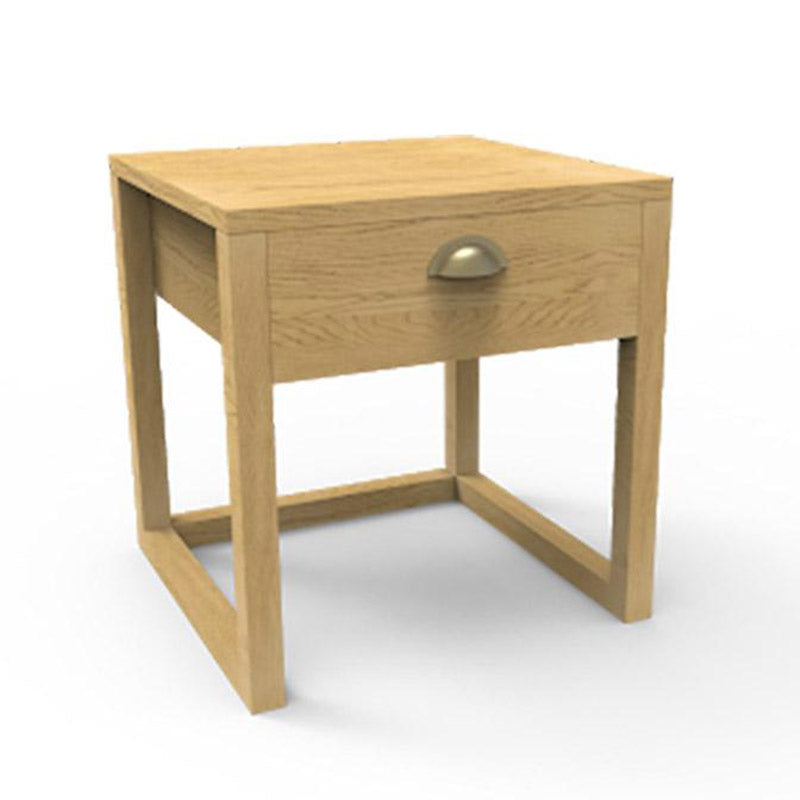 Crate Oak Nightstand