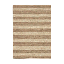 Load image into Gallery viewer, Natural Jute Stripe Rug