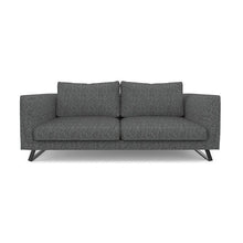 "Load image into Gallery viewer, Lela Anthracite 78"" Sofa"