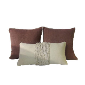 Loom High Textured Pillow Set of 3