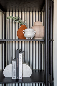 Fence Black Bookcase